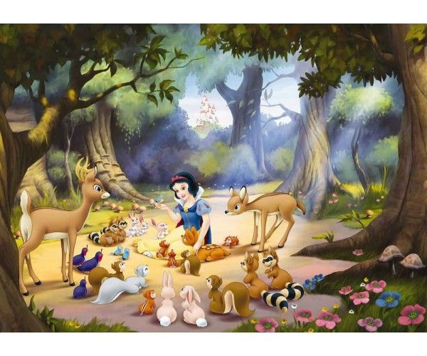 Disneys Snow White Disney S Snow White Forest Wallpaper