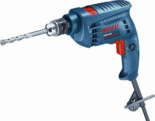 Bosch Gsb 501 500 Watt Professional Impact Drill Machine Blue Cordless Impact Drill Drill Power Drill