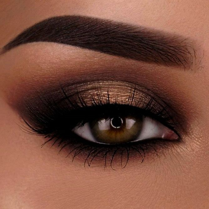rock makeup for brown eyes (makeup ideas & tutorials) - hairstyle 2019 -  Like rock makeup for brow