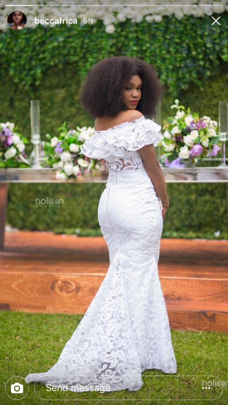 Follow Us Signature Bride On Instagram And Twitter And On Facebook Signature Bride Magazine Chec Lace Gown Styles African Lace Dresses African Lace Styles