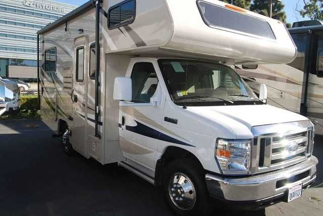 2015 Used Coachmen LEPRECHAUN 190CB Class C in California CA.Recreational Vehicle, rv, The contact for this RV is JEFF POGUE or KEVIN FOSSUM and can be reached at 888-339-9166 or email to . Used 2015 Coachment Leprechaun 190CB features that include L-shaped dinette, 2-burner stove top, kitchen sink, microwave, toilet, shower, bathroom sink, overhead bunk, plenty of cargo and cabinet space, generator and much more! Out of state customers are welcome! Additional photos, brochure and floor plan…