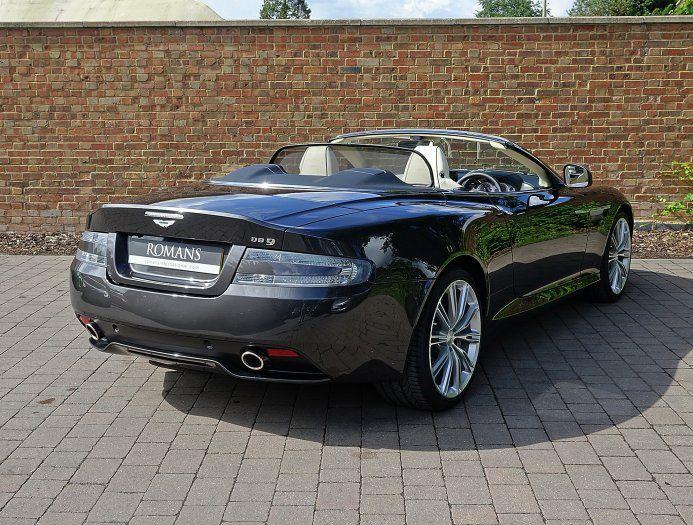 2014 (64) Aston Martin DB9 Volante for sale | Quantum Silver