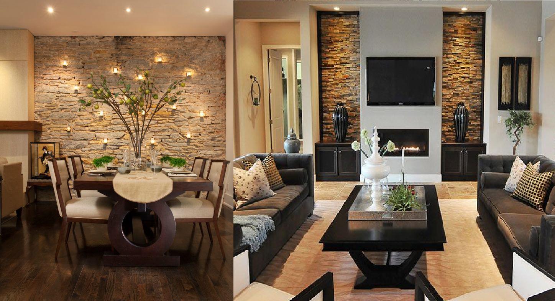 Decoracion de salas en tonos marrones casas ideas casa for La decoracion de las casas