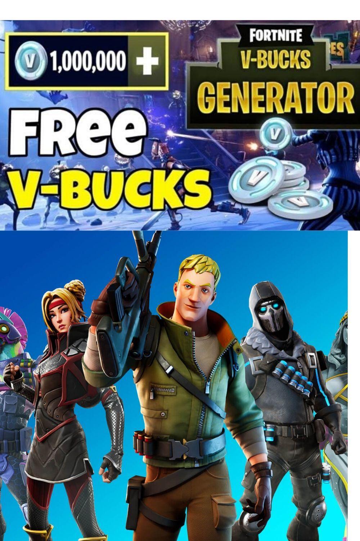 Fortnite free v bucks generator no human verification in