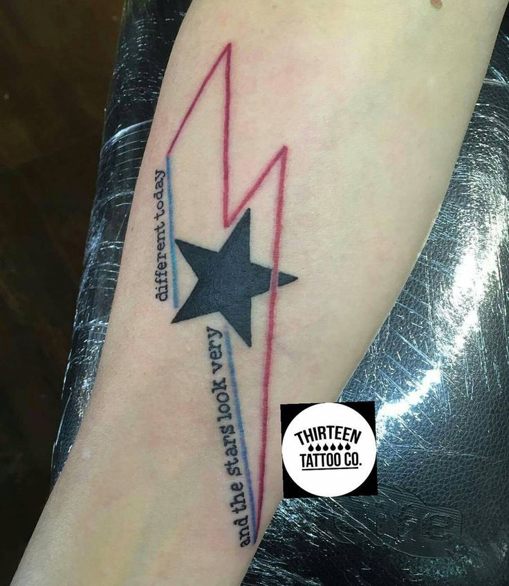 David bowie the stars look very different today google for David bowie tattoos