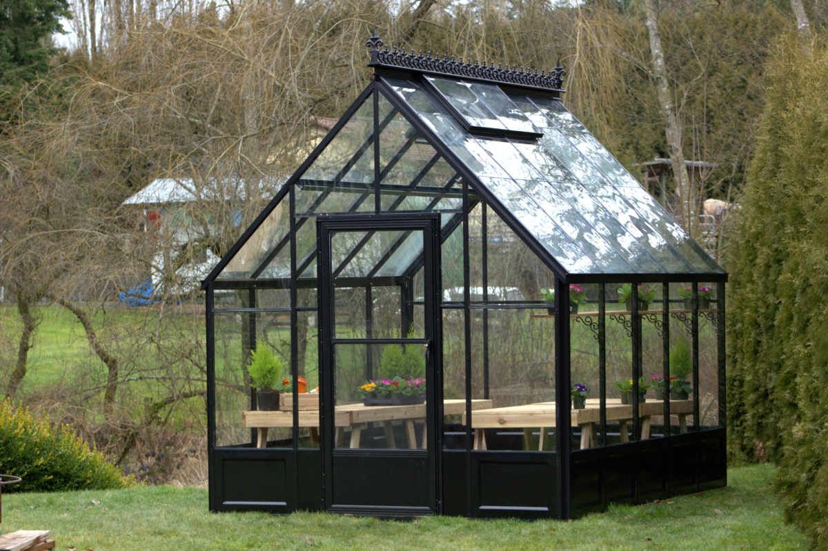 Cross country parkside 8x12 glass greenhouse with images