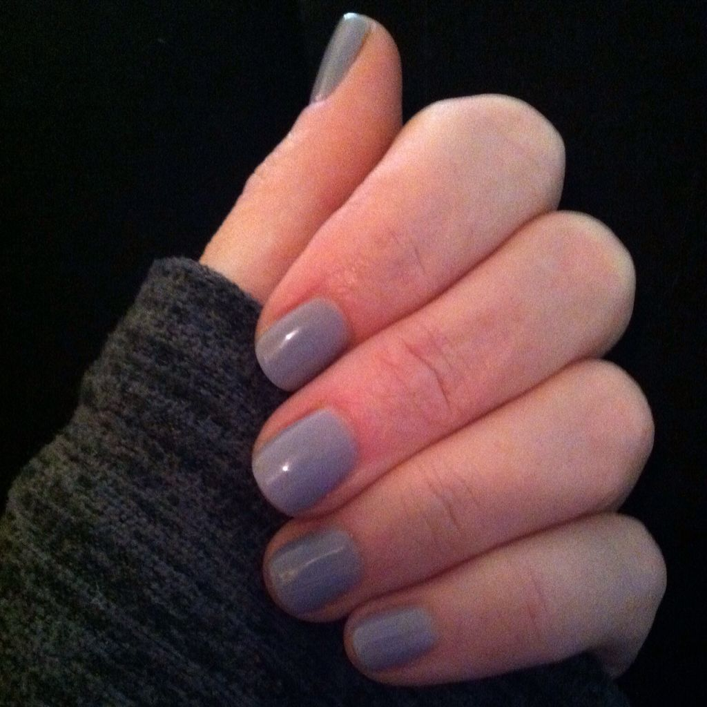 Essie gel polish from left to right sweater girl duster no essie gel on a silver spoon 3 coats parisarafo Images