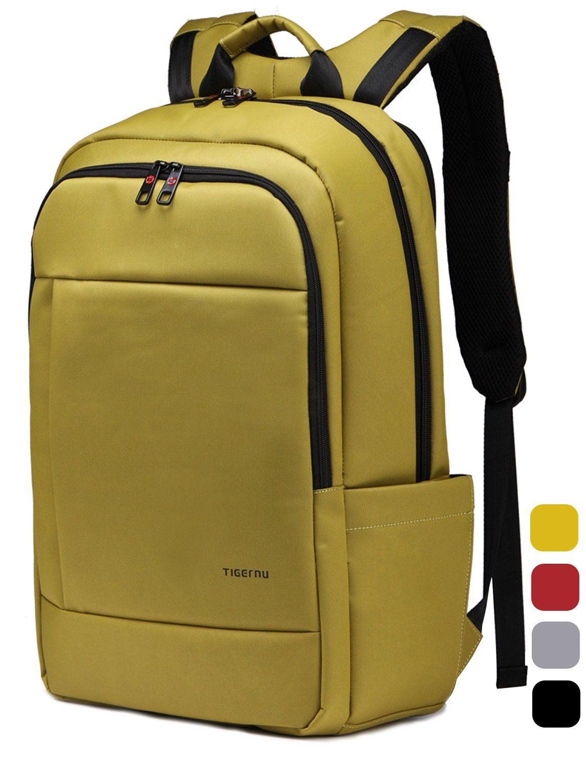 Kuprine Water Resistant Slim 17 Inch Laptop Backpack for College ...