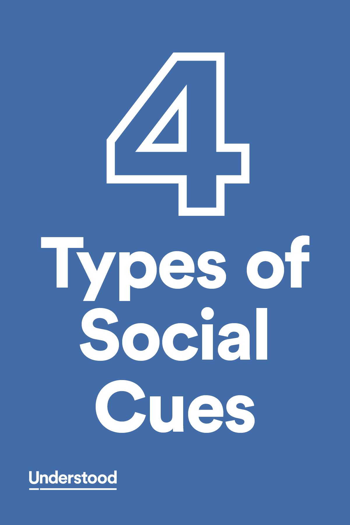 4 Types Of Social Cues