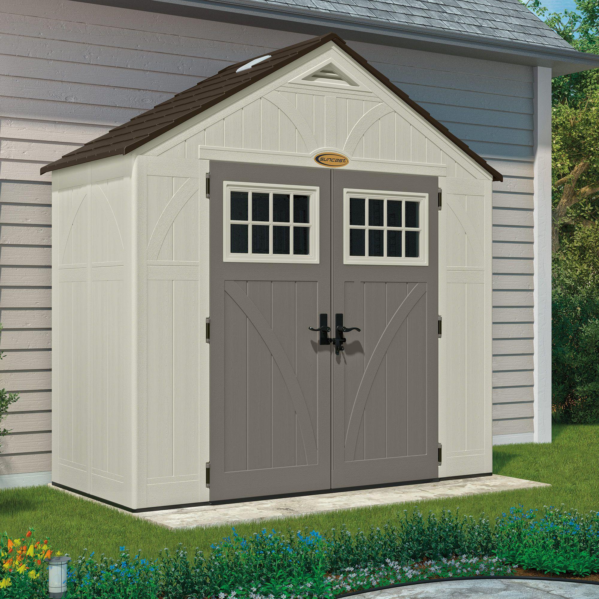 suncast 8 x 4 storage shed cabana shed storage shed storage