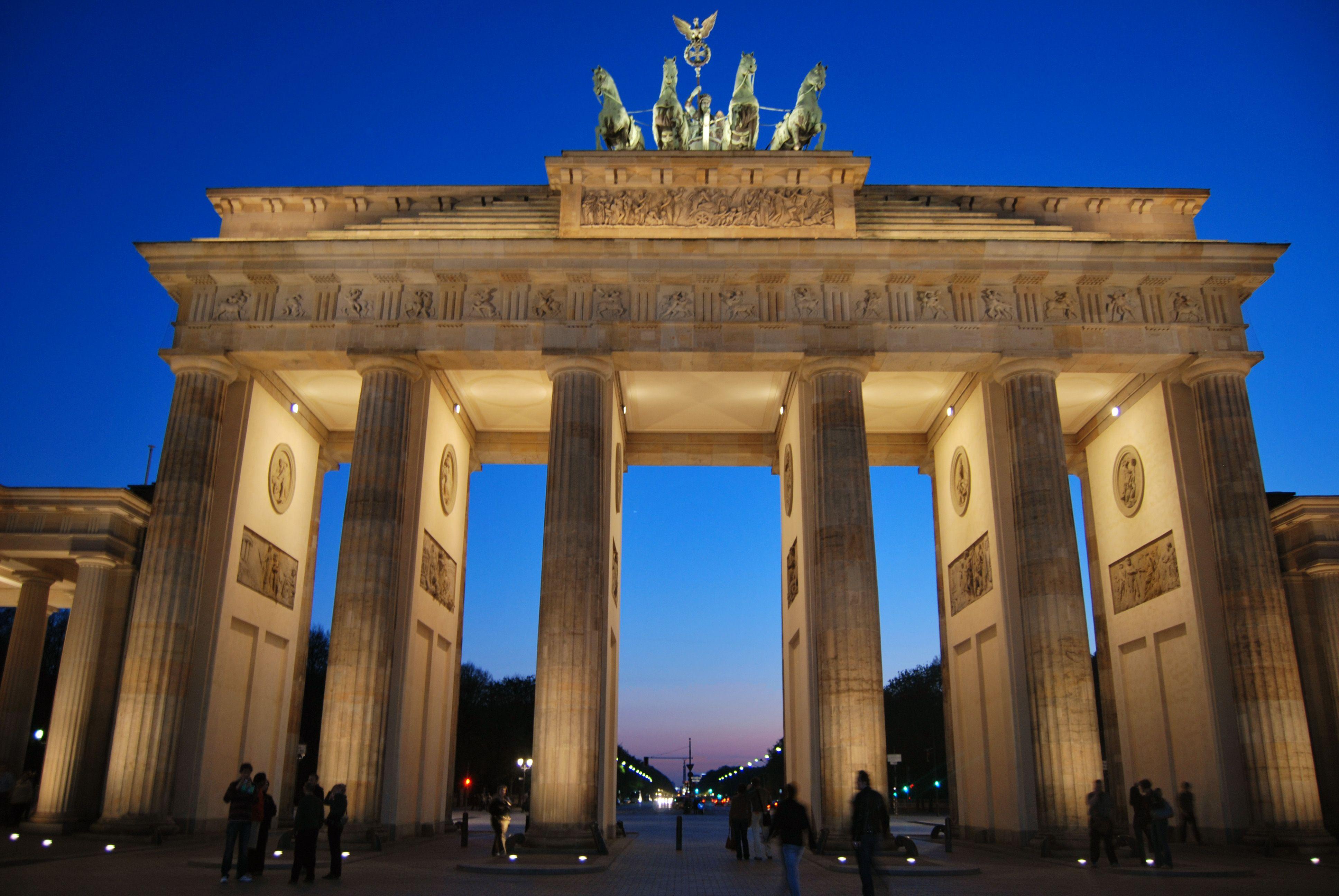 Brandenburger Tor Berlin Brandenburg Gate Gate Pictures Brandenburg