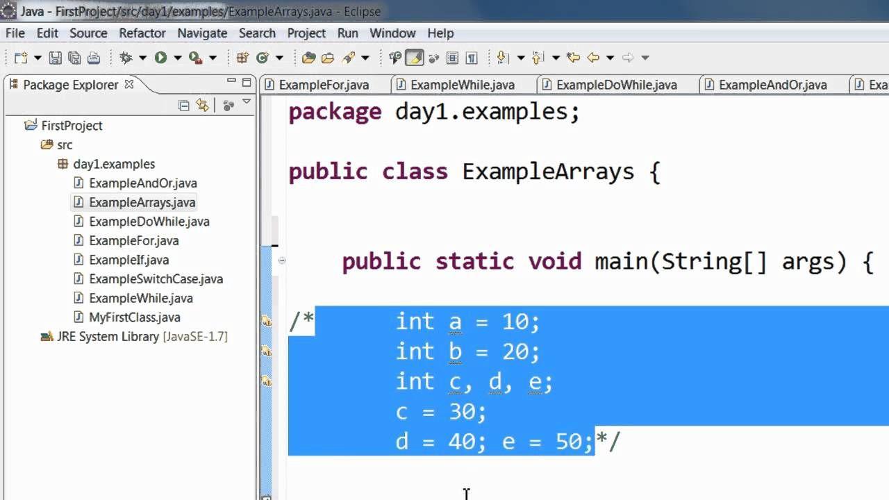 Java programming step by step tutorial