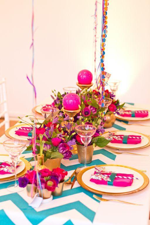 Fuchsia Hot Pink Wedding 2 Bold Is Beautiful Stationery Paper Place Card