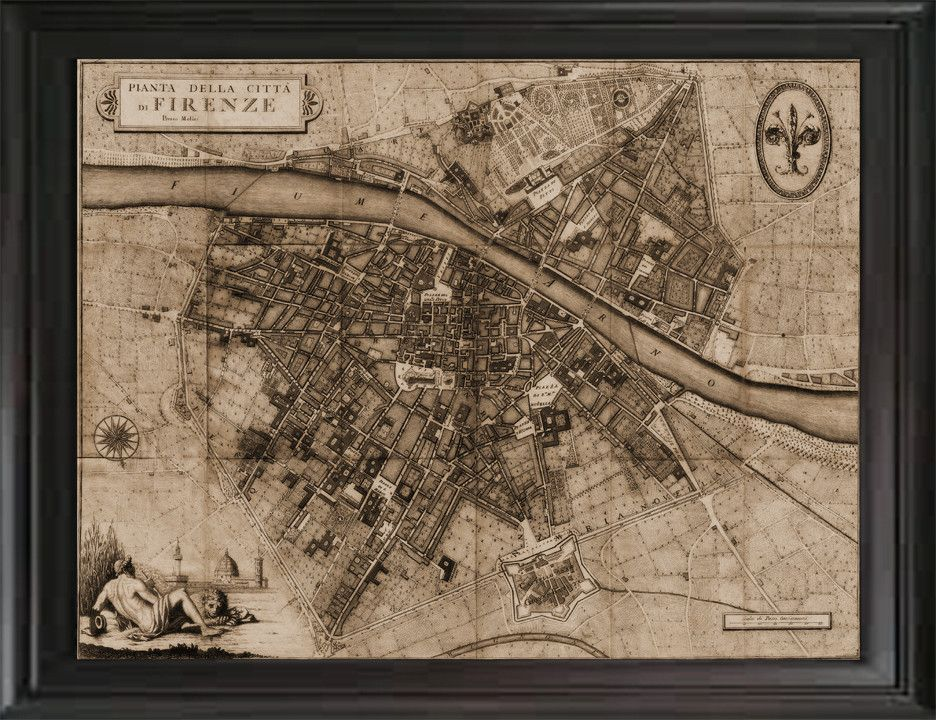 Old world map of florence italy 1847 cartography pinterest old world map of florence italy 1847 gumiabroncs Choice Image