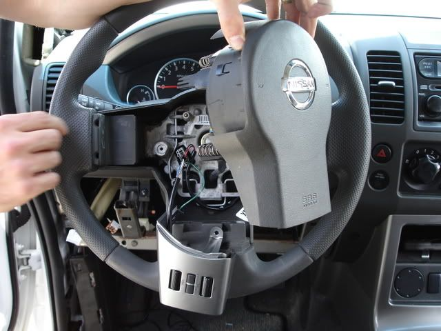 How to install steering wheel controls Nissan Frontier