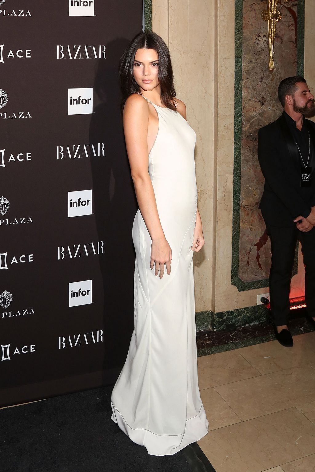 kendallnjennerdaily: September 16, 2015 - At the 2015 Harper's BAZAAR ICONS Event at the Plaza Hotel in New York
