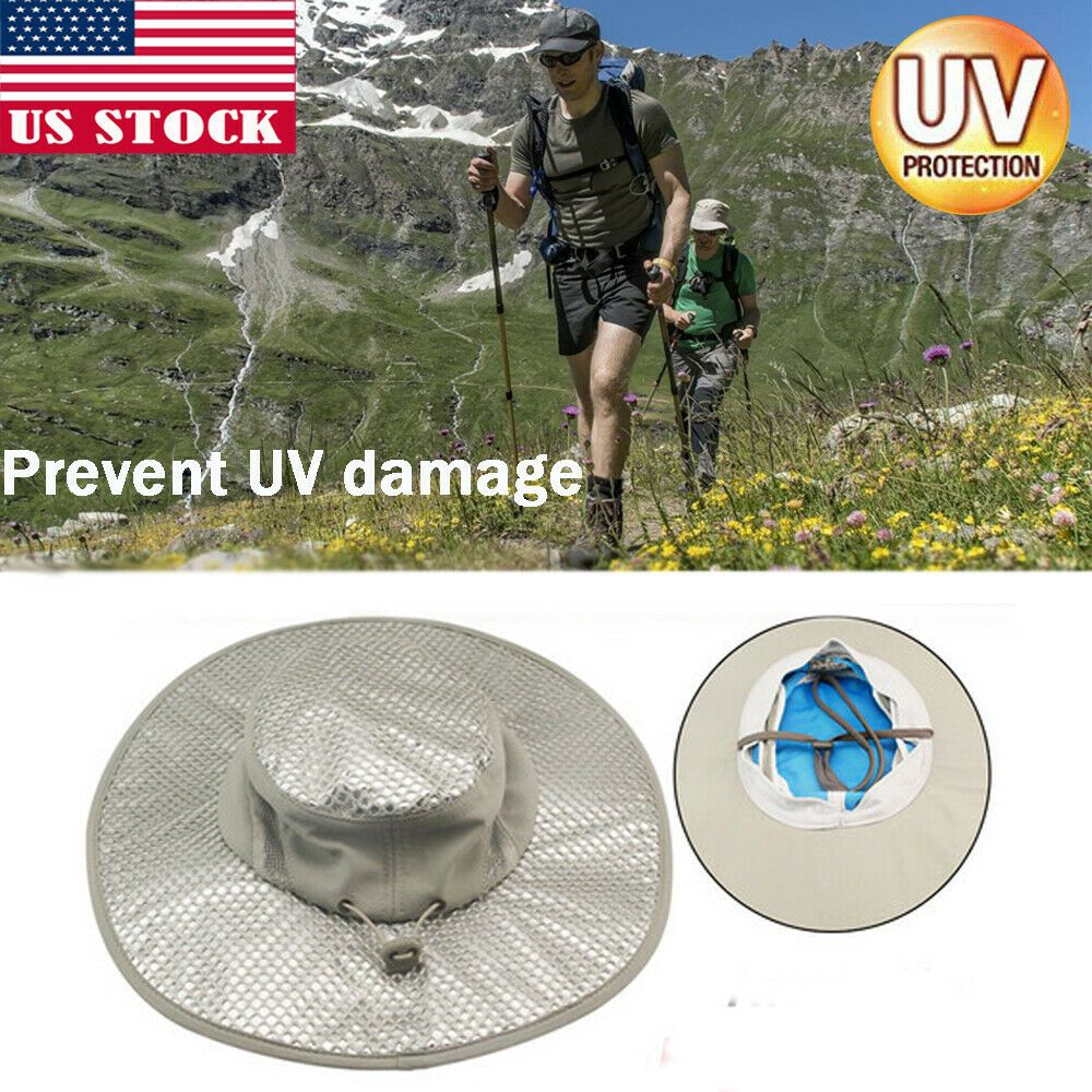 48e3473b (Sponsored)eBay - Hydro Cooling Bucket Hat Arctic Hat With UV  Protection-Keeps You Cool Protected