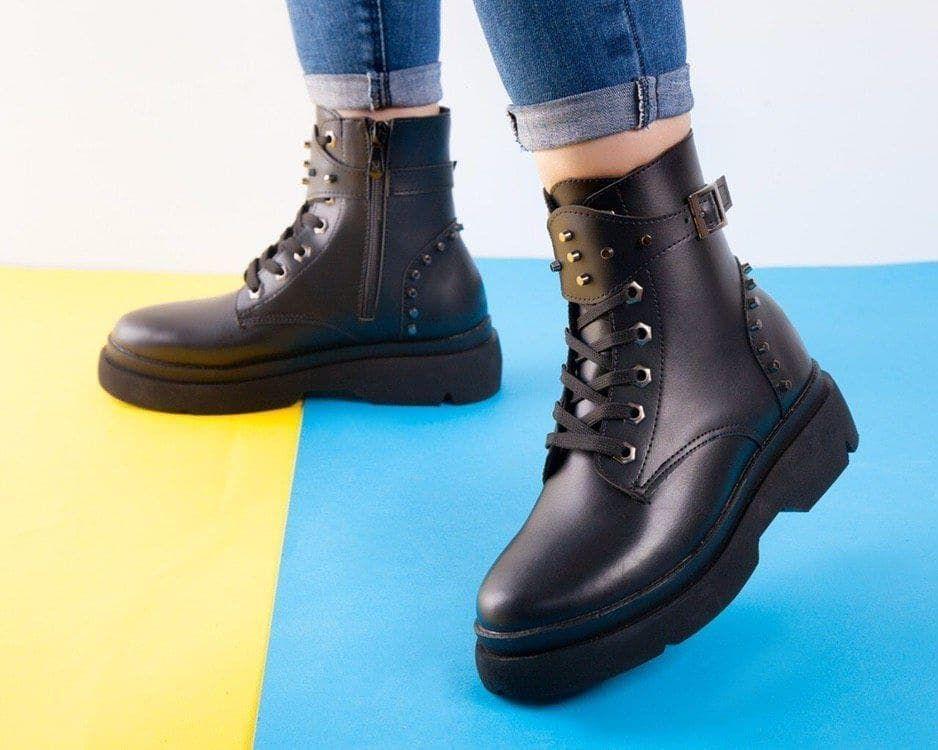 نیم بوت دخترانه شیک Combat Boots Boots Shoes