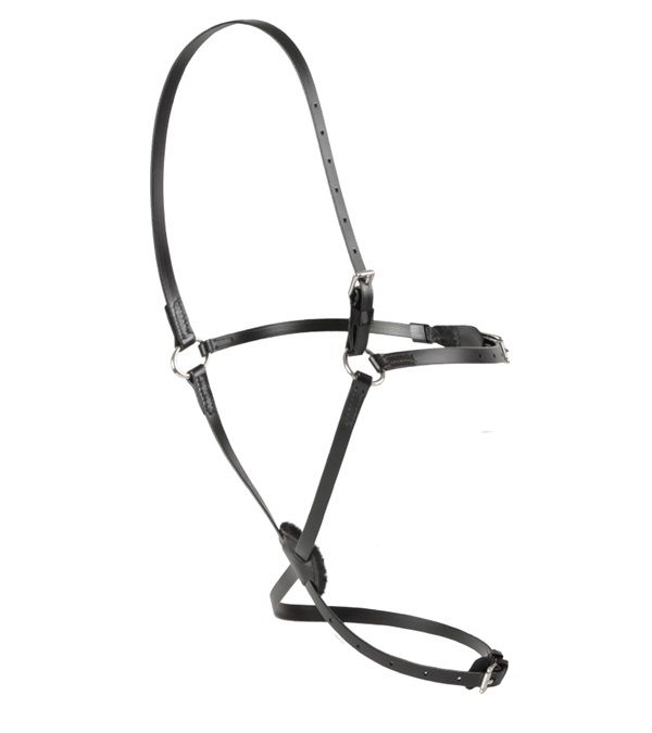 Feather-Weight® Figure 8 Head Halter (Synthetic + Black