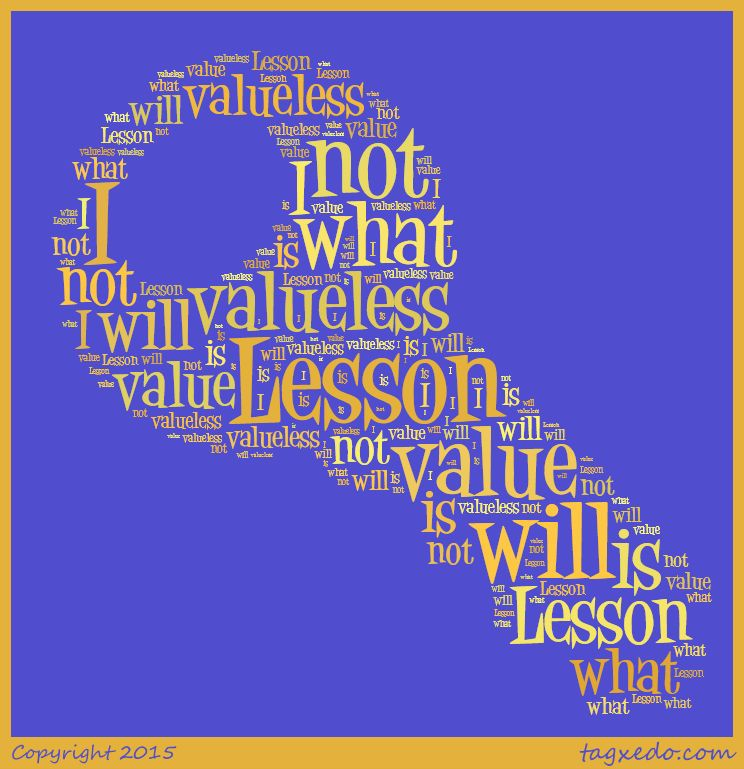 Lesson 133 I Will Not Value What Is Valueless Lesson Course In