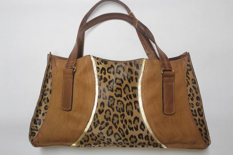 Unique cheetah bag from SpaceAgey!