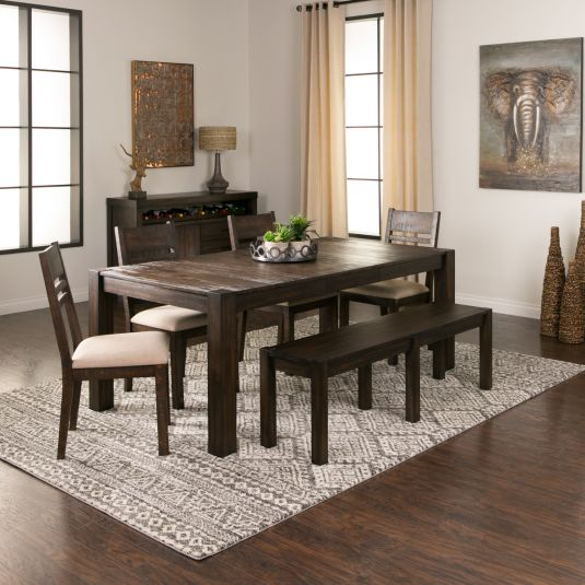 Acacia Dining Set Expandable Dining Room Set Jerome S Home