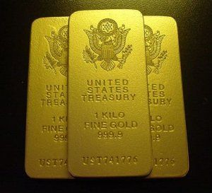 The Accountant Presidential Seal 3 Gold Bar Movie Prop Replica Gold Bullion Coins Gold Bullion Bars Buy Gold And Silver
