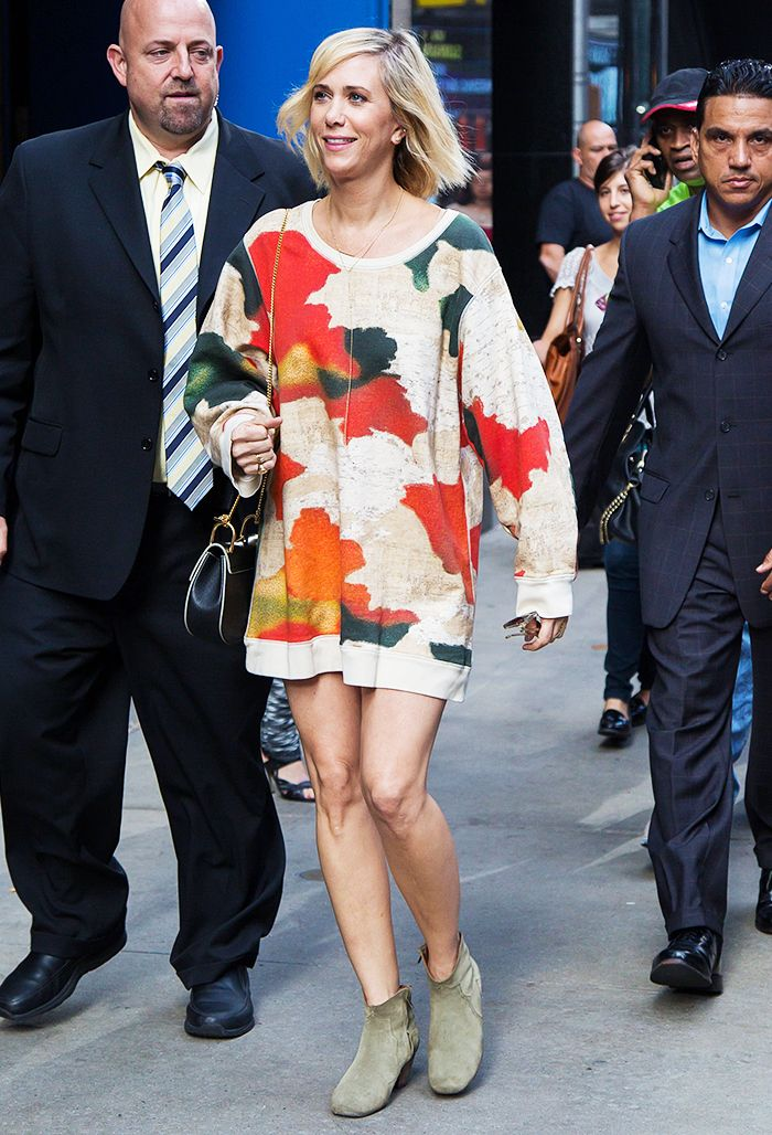 Why Kristen Wiig Is an Unsung Style Star | White high top