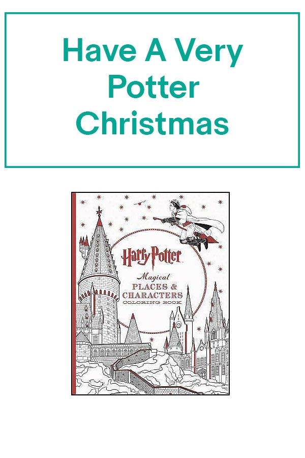 Harry Potter Magical Places And Characters Coloring Book 2016 Paperback