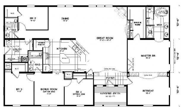 Model: Redlands Type: Triple Section Dimensions: 40'x66