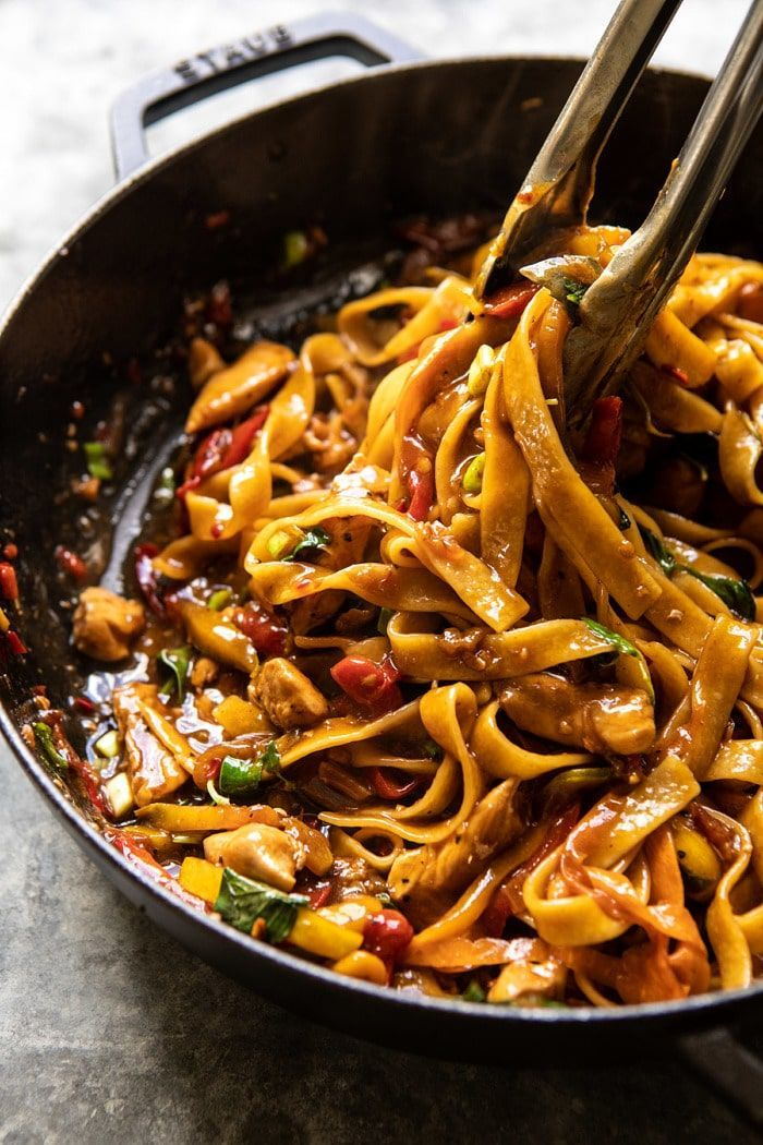 Better Than Takeout Thai Drunken Noodles. - Half Baked Harvest