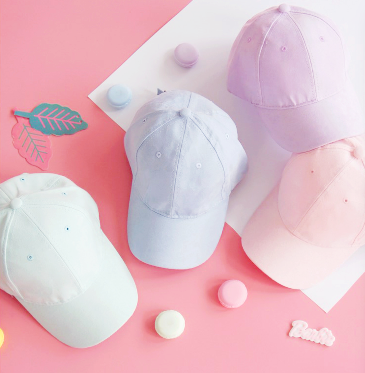 d3e643d7c PASTEL COTTON CANDY SUEDE CAP by OCEAN KAWAII FREE SHIPPING ...