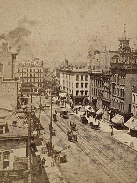 Yesterday S Milwaukee Ludington Building 1885 Milwaukee
