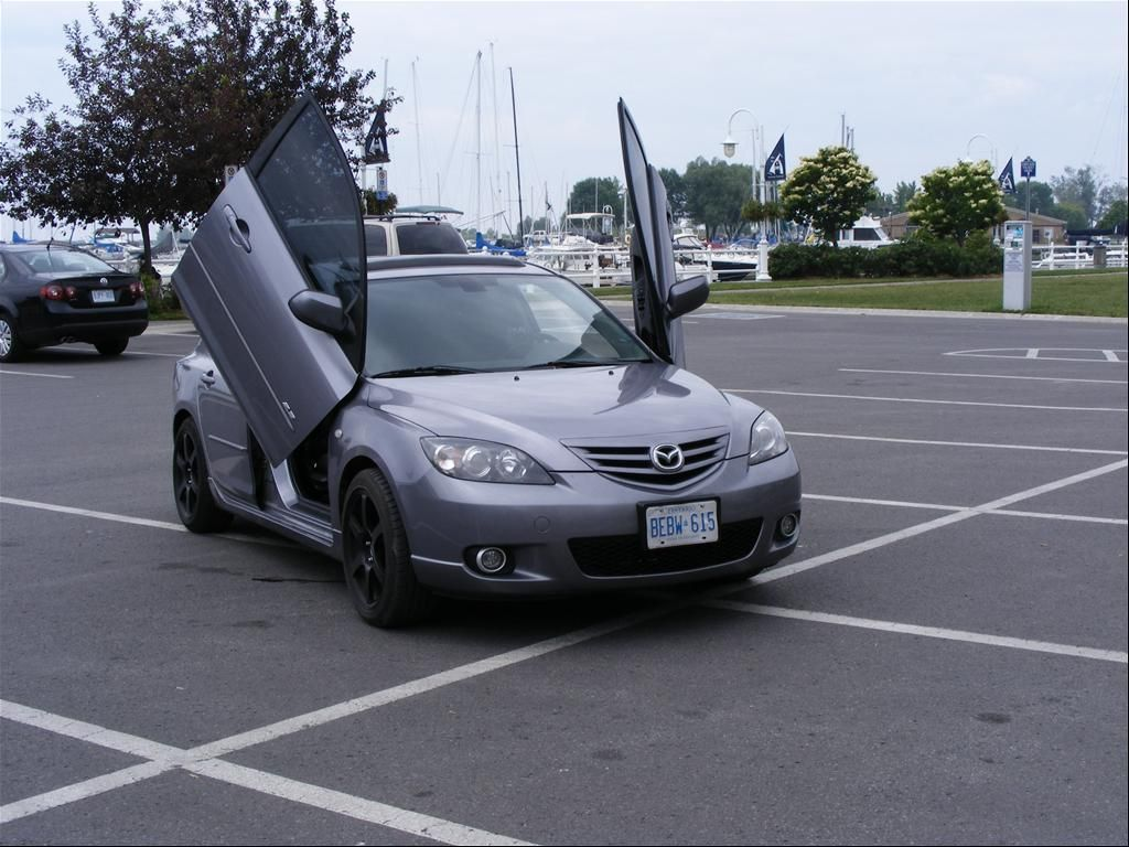 Jazzy Gullwing Car Door Hinges Mazda 3 Woah Pinterest