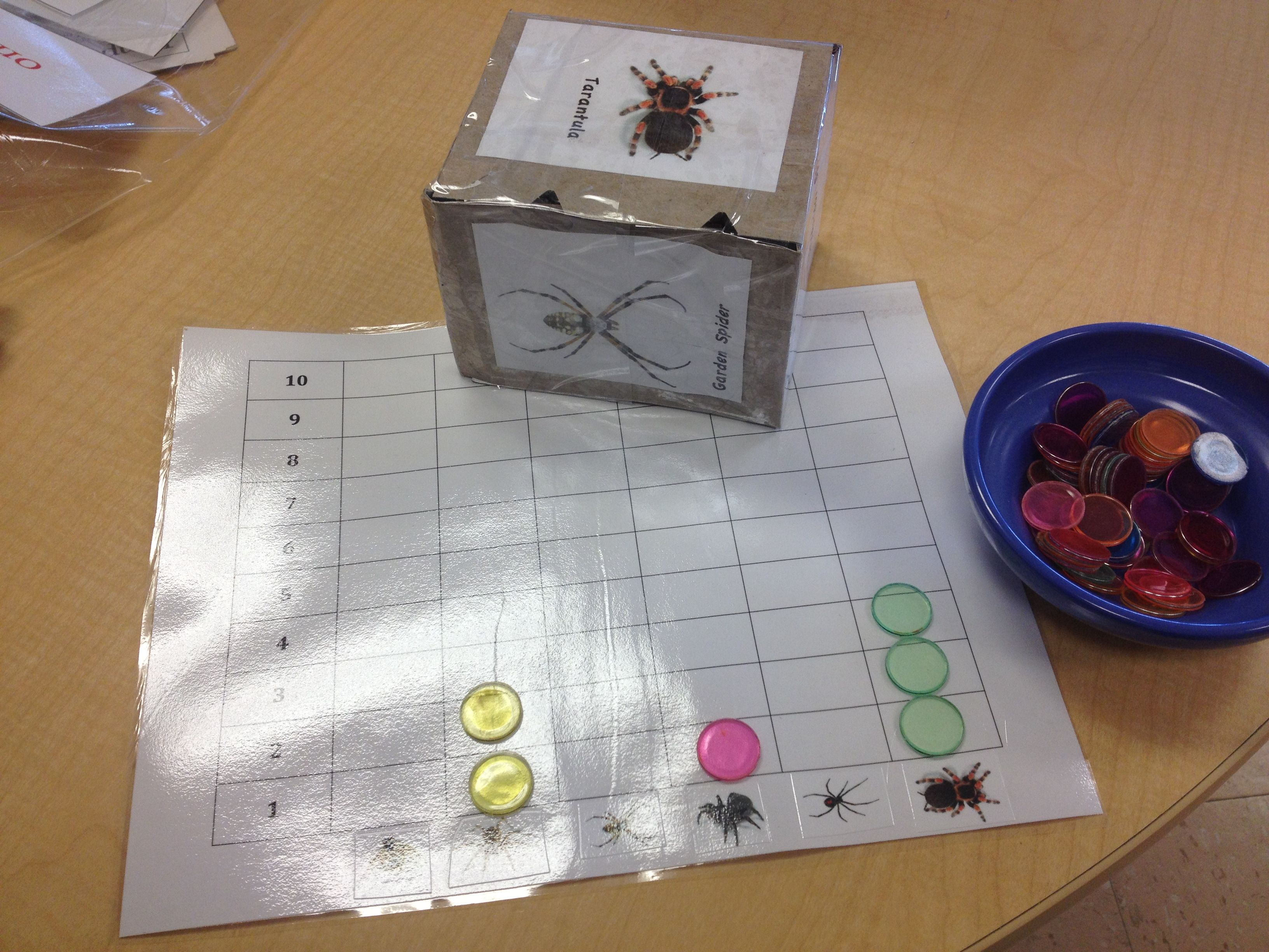 Spider Game Interest Based Math Game That Promotes