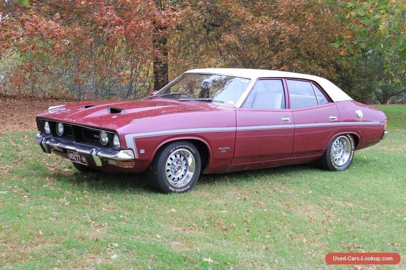 Car For Sale 1974 Xb Gs Ford Falcon 500 Sedan Fact Mulberry