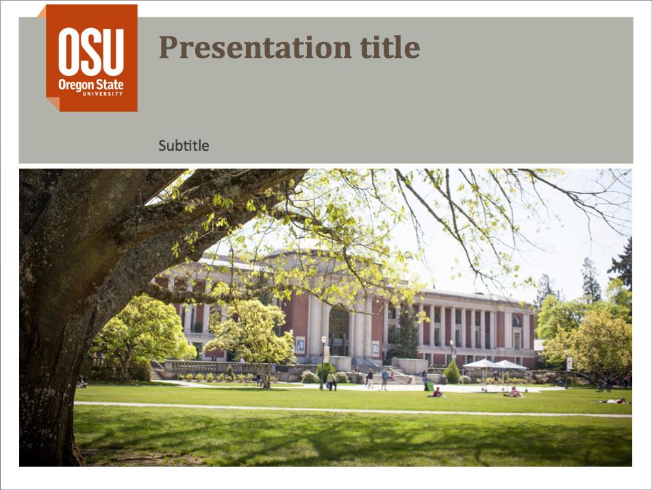 ppt presentation template 2 | brand identity guidelines | oregon, Presentation templates