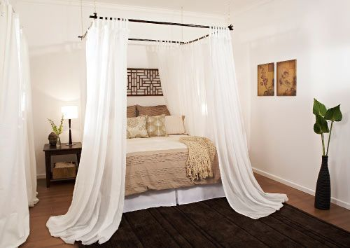 Bamboo Canopy Pt 2 Canopy Bed Diy Home Home Decor