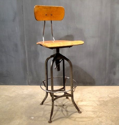 Awesome Vintage Toledo Drafting Chair 275 Drafting Chair Caraccident5 Cool Chair Designs And Ideas Caraccident5Info