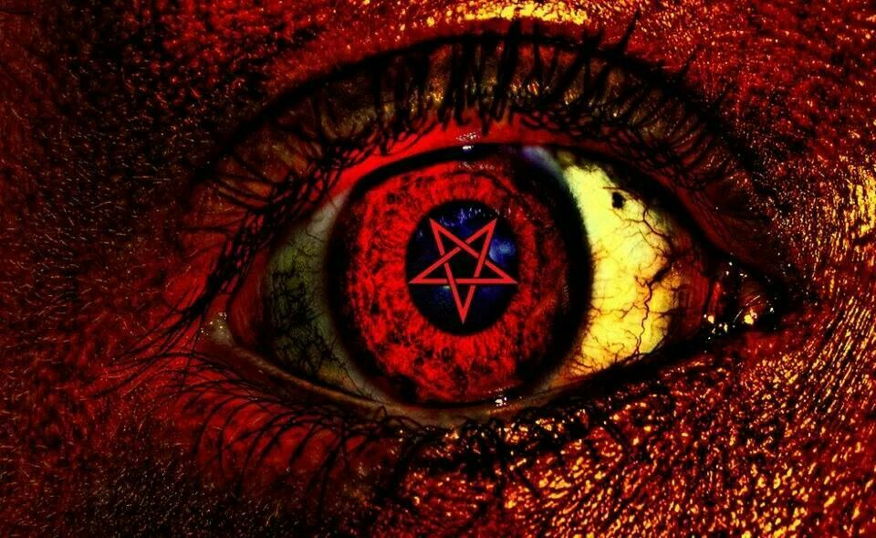 Satanic Demon Eyes Eyes Wallpaper Dark Evil
