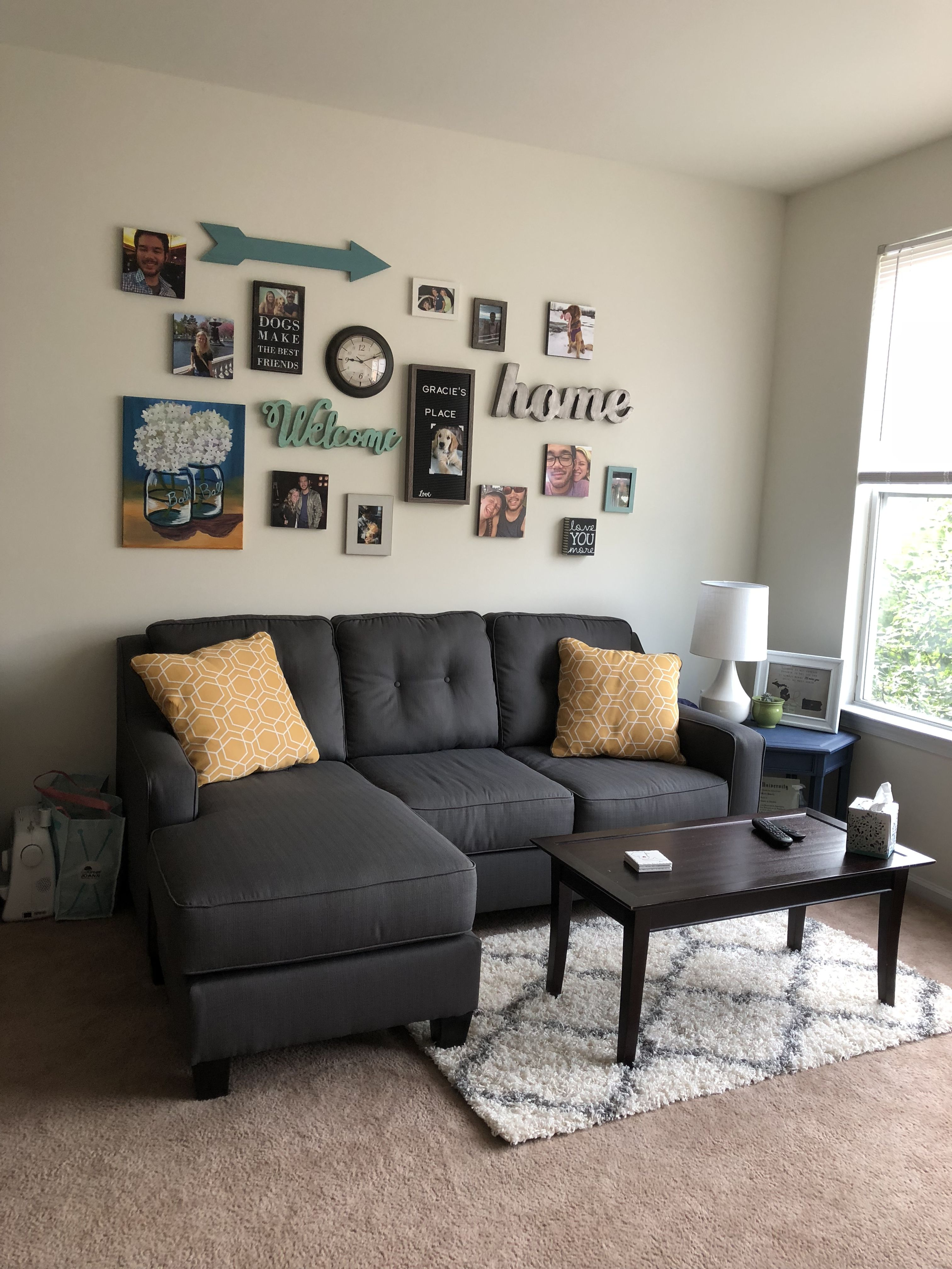 wall collage ideas living room wall collage picture on family picture wall ideas for living room furniture arrangements id=71159