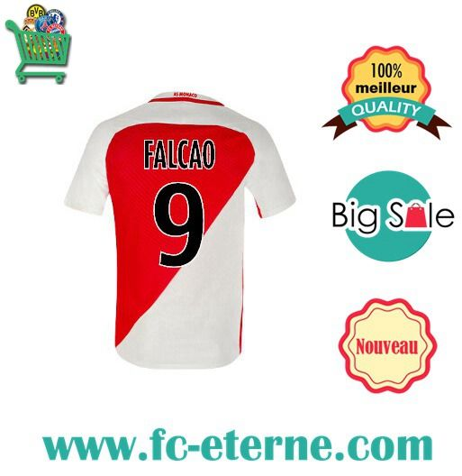 tenue de foot AS Monaco soldes