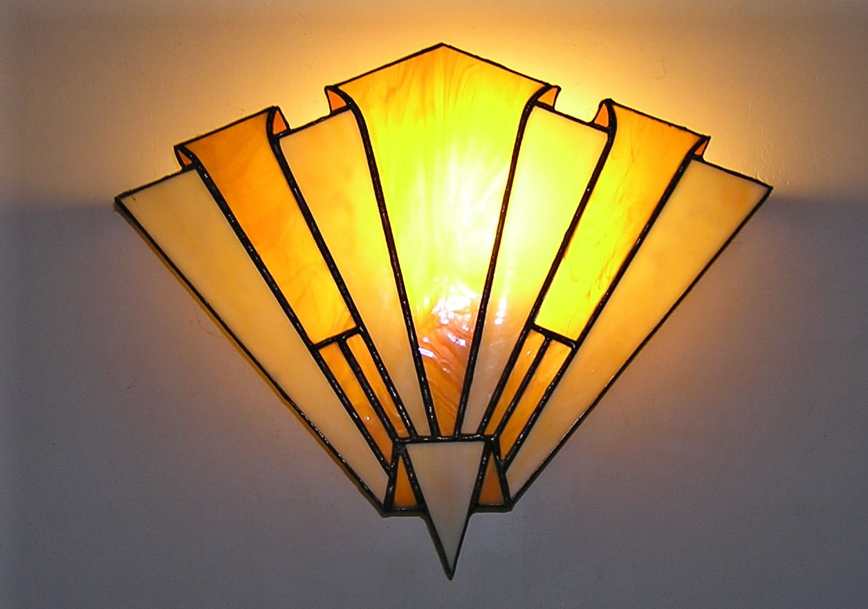 Art Deco wall lamp | Interior Design | Pinterest | Deco wall, Art ...