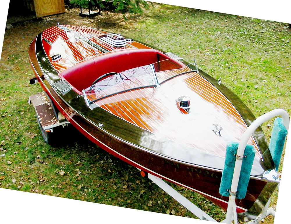 Antique Boats - Chris Craft 1940 16' Special Race Boat