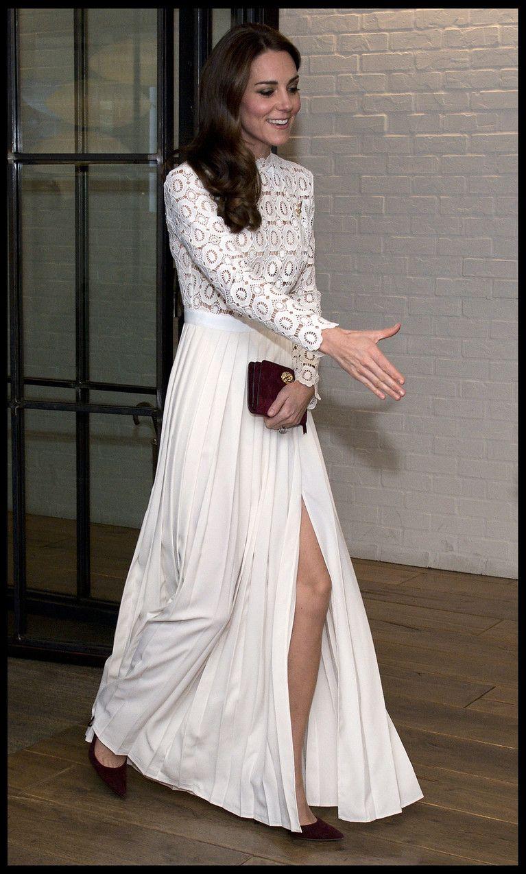 "Księżna Kate na premierze filmu ""Kot Bob i ja"" Sukienka"