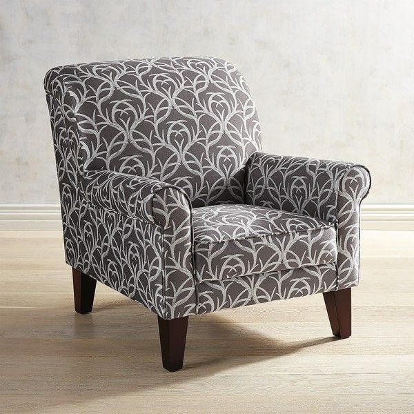 Pier 1 Imports Lyndee Extra Points Antler Armchair 500 Liked On Polyvore Featuring Home Furniture Chairs Accent Chairs Patterned Chair Chair Armchair