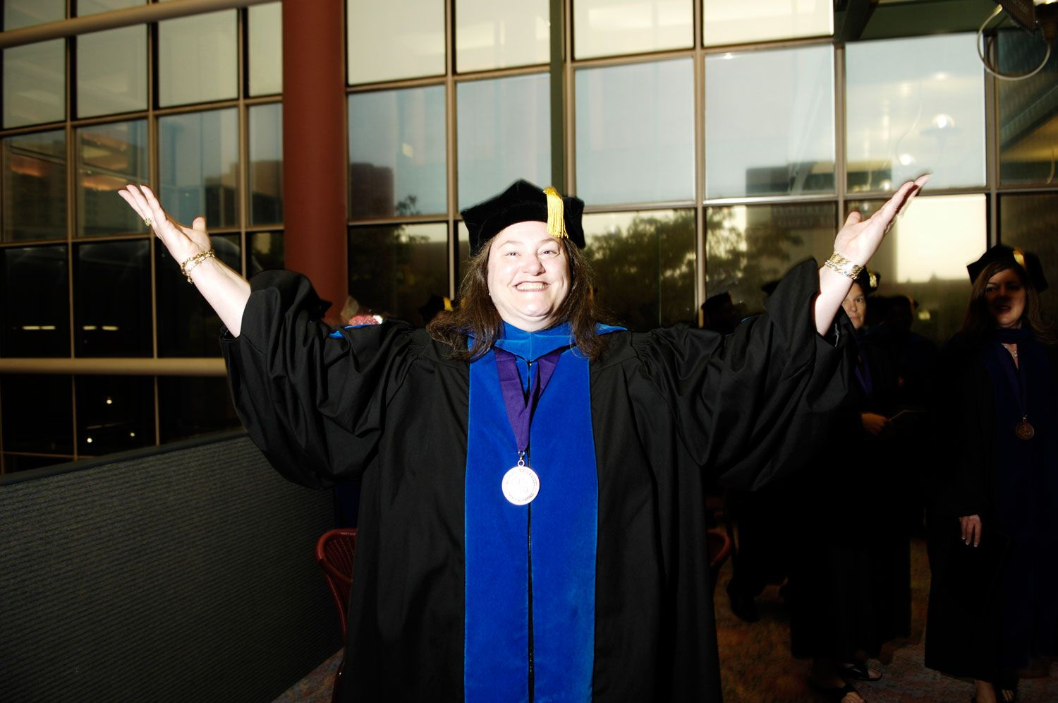 Now this is one happy Capella University graduate! #college #graduation