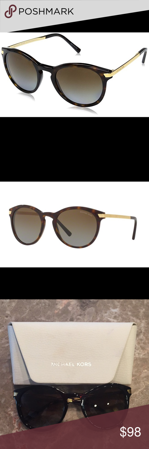 30d7088492 Michael Kors MK 2023 Adrianna III Sunglasses🌟 Reflect your style with the trendy  Adrianna Iii