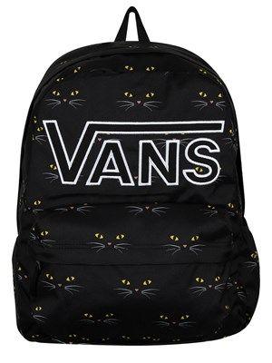 9f292aac19 Vans Realm Flying V Backpack - Black Cat