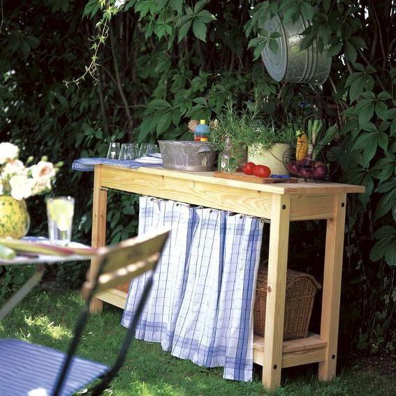 Outdoor Kitchen Ikea Hack